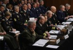 Senate Armed Services Committee Holds Hearing With Top Military Officials On Compensation