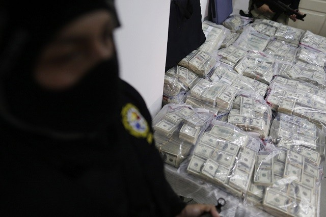 over $7 million confiscated by police