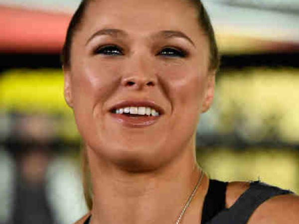 Ronda Rousey Hosts Media Day Ahead Of The Rousey Vs. Holm Fight