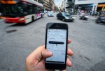 Barcelona Cabs Strike Against Uber Taxi App
