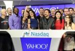 Yahoo!, Inc Rings The NASDAQ Opening Bell