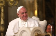 Pope Francis Visits The Synagogue of Rome