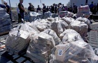 Coast Guard Offloads Massive Amount Of Cocaine Seizures at Sea