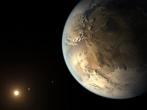 Rendering of Kepler-186f
